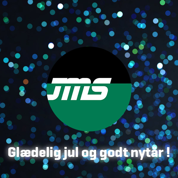 JMS Danmark ønsker kunder og samarbejdspartnere en rigtig glædelig jul samt et godt nytår. JMS Danmark wish customers and business connections a merry Christmas and a happy New Year.